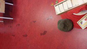 Voetsporen in de klas